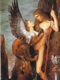 モロー「オイディプスとスフィンクス」1864年