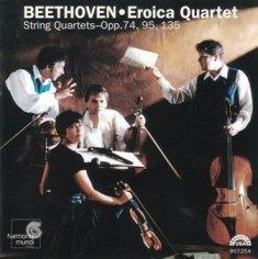 The Eroica Quartet_Beethoven_harmonia mundi_HMU 907254