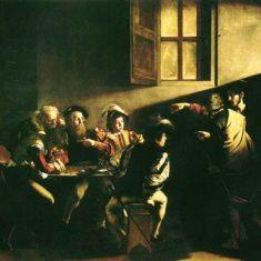 カラヴァジォ「聖マタイの召命」235×235