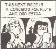 (1)次の曲は フルート協奏曲...