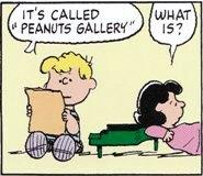 「ピーナツギャラリー」って言う曲だよ. 何ですって?