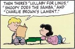 ライナスの子守唄、スヌーピーのサンバ、チャーリーブラウンの哀歌