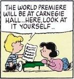 ほら、今度カーネギーホールで世界初演されるんだって