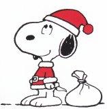クリスマスの音楽_サンタ_スヌーピー