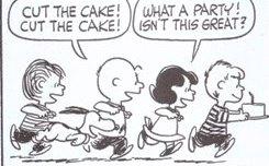 ケーキだ、ケーキカットだ! ちょっとスゴクない?