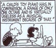 (1)「スヌーピー」の音楽 トイピアノ