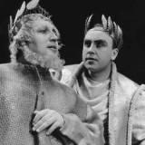 ヴンダーリヒ(左、テイレシアス)とシュトルツェ(オイディプス) Dezember 1959, Wuuml;rttemberg State Theatre, Stuttgart