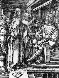 「イエスとヘロデ 」画デューラー