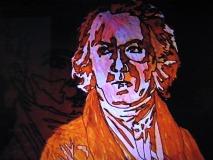 ベートーヴェンの肖像画が映るシーン(2)