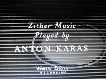 アントン・カラスの演奏による チター音楽