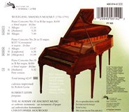 Mozarts Own Fortepiano_レヴィン=ホッグウッド コンチェルト(裏表紙)
