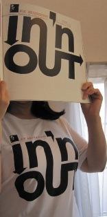 ブルーノートTシャツ In n out
