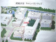 成城大学キャンパス・マップ
