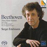 セルゲイ・エデルマン 、ベートーヴェン 4番・「月光 」・「熱情 」