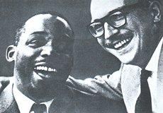 Kenny Clarke(L.)& Francy Boland(R.)
