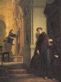 「フランチェスコ教会でオルガンを弾く幼いモーツァルト 」(Heinrich Rossow 1864 )