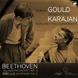 グールド カラヤン べートーヴェン ピアノ協奏曲第3番(1957年 Sony )