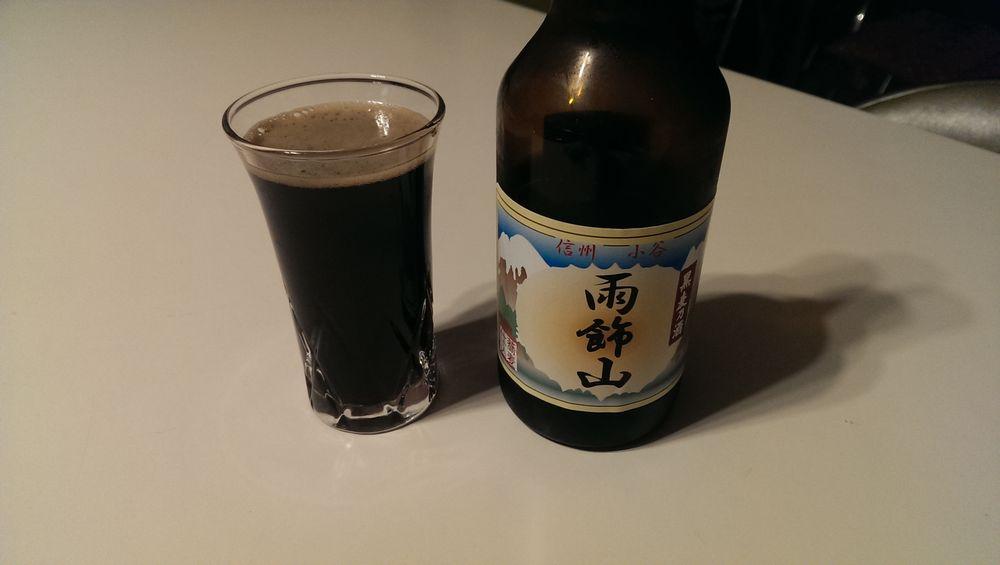蕎麦黒発泡酒