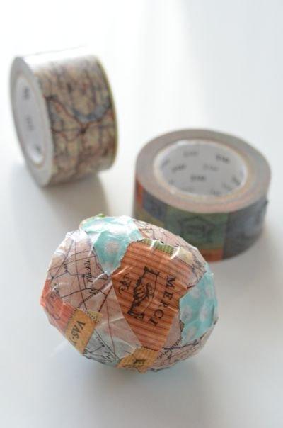 マスキングテープの卵の殻20121221