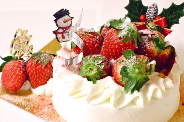 クリスマスケーキ20121224