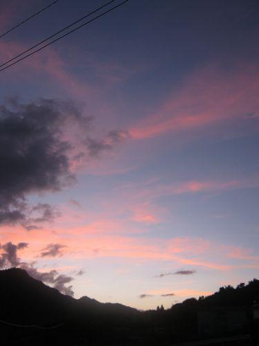 綺麗な空明日へ続く空
