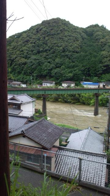 広見川増水