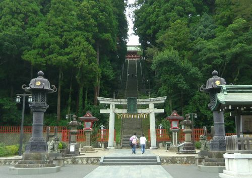 塩釜神社1表参道鳥居
