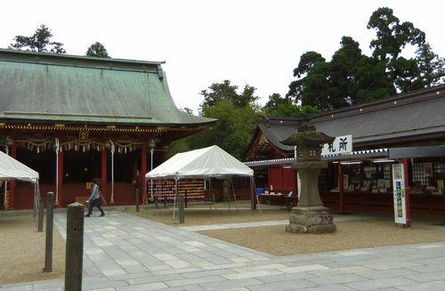 塩釜神社6別宮拝殿授与所