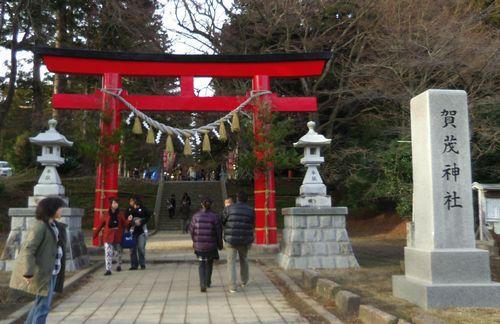 賀茂神社2014初詣1