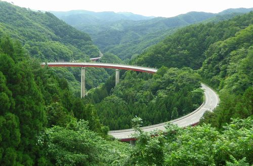 国道343号線笹ノ田峠1