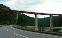 国道343号線笹ノ田峠6ループ橋