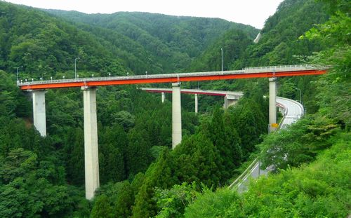 国道343号線笹ノ田峠7ループ橋