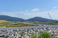 陸前高田20震災後の高田松原海岸