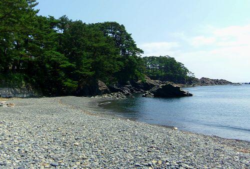 碁石海岸1碁石浜