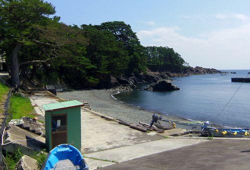 碁石海岸5碁石浜