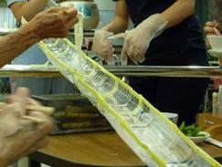 東京都 足立区 介護老人保健施設(入所・短期入所・ショートステイ)  千寿の郷 流しソーメン