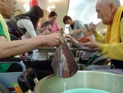 東京都 足立区 介護老人保健施設(入所・短期入所・ショートステイ) 千寿の郷 流しソーメン9