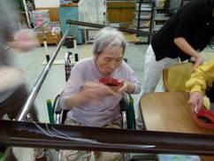 東京都 足立区 介護老人保健施設(入所・短期入所・ショートステイ)  千寿の郷 流しソーメン5