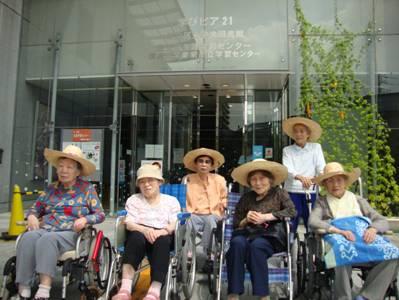 東京都 足立区 介護老人保健施設(入所・短期入所・ショートステイ) 千寿の郷 外出