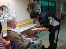東京都 足立区 介護老人保健施設(入所・短期入所・ショートステイ) 千寿の郷 映画会 ⑥