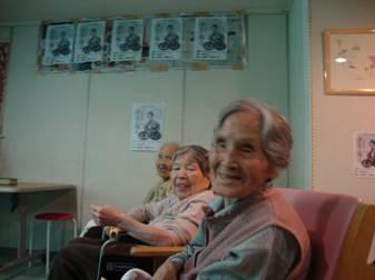東京都 足立区 介護老人保健施設(入所・短期入所・ショートステイ) 千寿の郷 映画会 ⑦