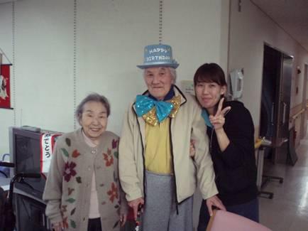 東京都 足立区 介護老人保健施設(入所・短期入所・ショートステイ) 誕生日パーティ (6)