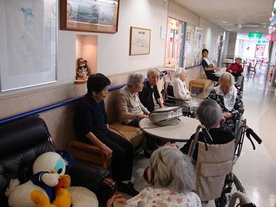 東京都 足立区 介護老人保健施設(入所・短期入所・通所リハビリ) 千寿の郷 入所フロアの様子