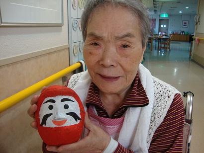 東京都 足立区 介護老人保健施設(入所・短期入所・ショートステイ) 千寿の郷 作業療法 張り子作り だるま