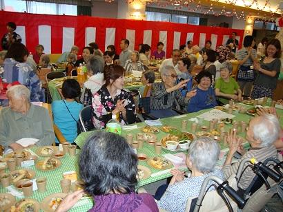 東京都 足立区 介護老人保健施設(入所・短期入所・通所リハビリ) 千寿の郷 納涼祭 踊り名人