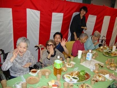 東京都 足立区 介護老人保健施設(入所・短期入所・通所リハビリ) 千寿の郷 納涼祭