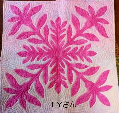 ハワイアンのタペ 65センチ角 EYさん 2014.10.30