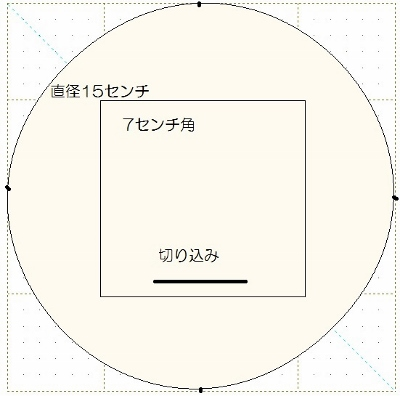 ピンクッション型紙 (400x396)