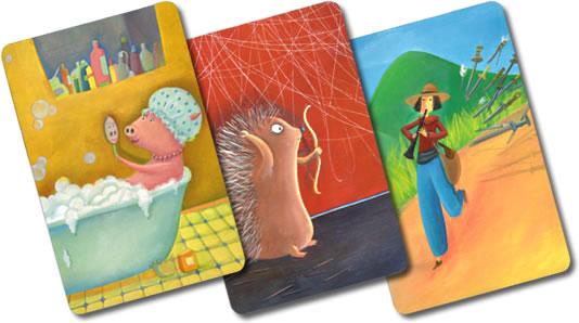 ディクシット2:カード3枚