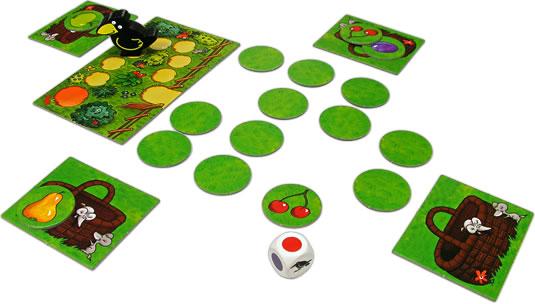 果樹園メモリーゲーム:展示用写真